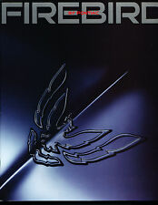 1997 Pontiac Firebird Trans Am and Formula  18-page Sales Brochure Book