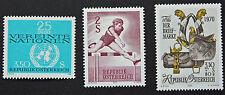 AUTRICHE timbre - Yvert et Tellier n°1176 à 1178 n** stamp Austria (cyn5)