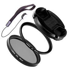 55mm Polfilter UV Filter Set passt zu Nikon AF-P 18-55 LUMOS Objektiv Zubehör