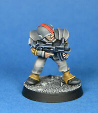 Painted Citadel Rogue Trader Warhammer 40K Imperial Guard Trooper Thomson OOP