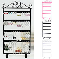48 Holes Earrings Ear Studs Display Rack Stand Jewelry Organizer Holder US