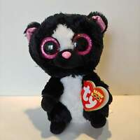 "Flora the Skunk - Ty Beanie Boo Plush - Style 36155 - Regular 6"" 15cm - NEW"