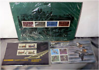 NOS, Vintage Postal Stamps, Thematic Collection, Canada, WWII, Birds, Locomotive