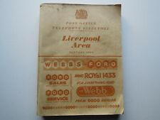 THE BEATLES ' POST OFFICE PHONE DIRECTORY 1959 ' McCARTNEY EPSTEINS CAVERN NEMS