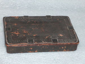 VERY OLD LEATHER BOX