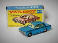 MATCHBOX LESNEY SUPERFAST No.25 1970 FORD CORTINA GT MINT IN SUPER RARE F BOX