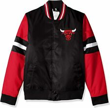 Chicago Bulls NBA Youth Black and Red Jacket with Embroidered logo