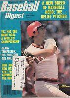 September 1977 Baseball Digest Boston Red Sox Carl Yastrzemski on the Cover