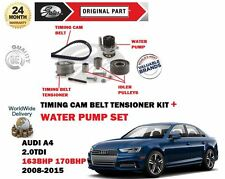 FOR AUDI A4 2.0 TDI 163BHP 170BHP 2008-2015 TIMING CAM BELT KIT + WATER PUMP SET