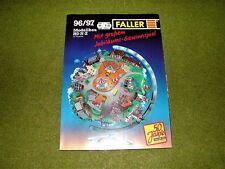 Faller ams   -   Katalog Modellbau HO - N - Z  von 1996/97