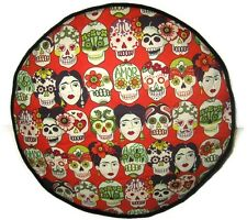 FRIDA Kahlo Gotas DE AMOR Handmade Pouf Sgabello Cuscino POUF POGGIAPIEDI