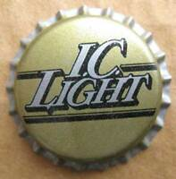 IC LIGHT unused Beer CROWN, Bottle CAP, Pittsburgh Brewing Co, PENNSYLVANIA