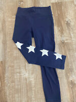 New Balance x J.Crew Navy High-Waist Star leggings Size Small