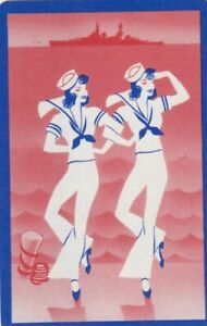 GENUINE SWAP PLAYING CARD - 1 SINGLE LADIES AND GENTS - #2