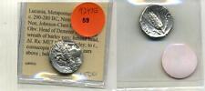 LUCANIA METAPONTUM 290 - 280 BC DENARIUS SILVER ANCIENT  AU  9297E