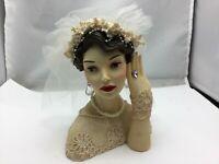 "Cameo Girls Deluxe Lady Head Vase Judith 1936 ""I Do"" COA Limited Edition # 984/1"