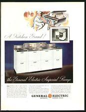 General Electric GE Imperial Cooking Range MAY 1935 Original Print Ad