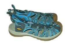Keen Women's 7.5 Waterproof Sport Sandals Water Hiking Shoes Blue Breathable