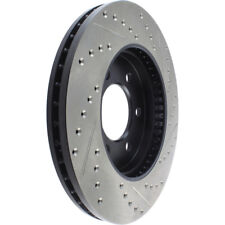 Disc Brake Rotor-Sport Drilled/Slotted Disc Front Right Stoptech 127.65097R