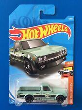 NEW 2018 Hot Wheels JDM CUSTOM 1973 DATSUN 620 PICKUP / UTE - mint on long card!