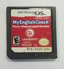 My English Coach Para Hispanoparlantes Nintendo DS Video Game Cartridge Only