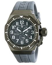 Swiss Legend Mens 10540-GM-014-WA Trimix Diver Gray Chronograph Watch NEW in Box