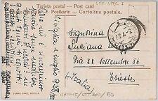 ITALIA REGNO storia postale - annullo POSTA MILITARE :  Ufficio Posta Speciale 7