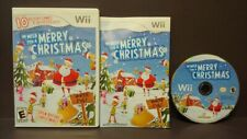 We Wish you a Merry Christmas  Nintendo Wii and Wii U Rare Game Complete 1 Owner