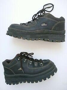 Vintage 90s Y2K Skechers Jammers 2632 Chunky Platform Shoes Brown Size 11