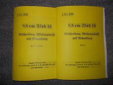 Dienstvorschrift L.Dv.436 Beschreibung 8,8cm Flak 18 von 1936
