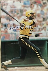 """Dave Parker Pittsburgh Pirates Signed Magazine Poster 11""""x16"""""""