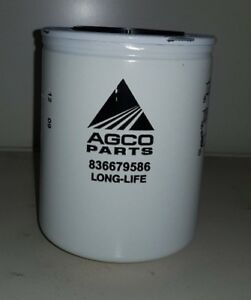 Here is a genuine  2X AGCO  Filter Longlife  PART NUMBER - V836679586 CHEAP AGCO