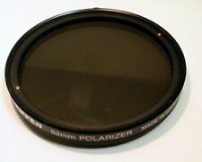 Tiffen 62mm Polarizer PL Linear POLAR Lens Filter USA