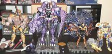 Masterpiece Beast Wars lot Megatron Dinobot Cheetor & Blackarachnia Transformers