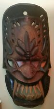 Antique or Vintage LARGE Philippine Tribal Wooden Mask. Exceptional!