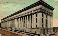 Vintage Postcard - Un-posted State Education Building Albany New York NY #4299