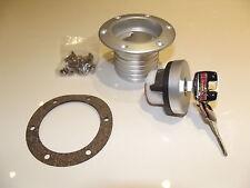 Aero Style Locking Fuel Filler Cap built in neck lockable IVA OK Kitcar Locost