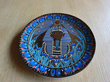Dekoschale mit Ägypten Muster. Extec Edition 1991 England