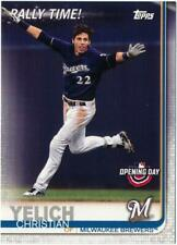 2019 Topps Opening Day Rally Time #RT-CY Christian Yelich SSP Brewers