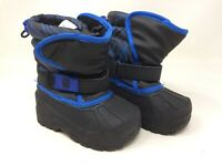 New! Boy's Toddlers Athletech Touhy 99441 Winter/Snow Boots -Blue  K3