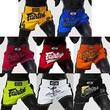 Fairtex Bs170X Series Shorts Slim Cut Martial Arts Muay Thai Boxing Sporting