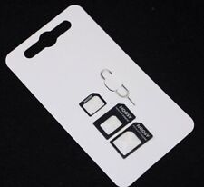 Nano Sim Karten Adapter 3 in 1 und Micro Sim Adapter iPhone 4 4s iPhone 5