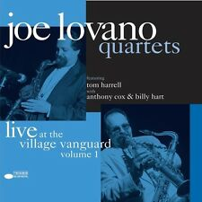 Joe Quartet Lovano-at the Village Vanguard (rem. Ltd. EDT. + DL-code) 2 VINILE LP NUOVO