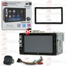 DUAL XDVD276BT CAR DOUBLE DIN 6.2