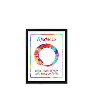 Buddhist Kindness Quote Print, Poster, Prints, Posters, Decor, Gift, Gifts