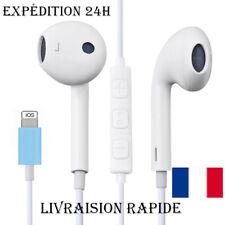 Écouteurs pour iPhone 7 8 Plus X XR XS MAX 11 Pro Max Son Stéréo Filaire