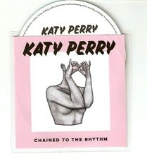 "KATY PERRY 'CHAINED TO THE RHYTHM "" NEW ITALIAN  CD PROMO"