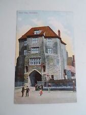 Vintage Postcard BLACK GATE, NEWCASTLE Photo by Ruddock Ltd Unposted  §R51