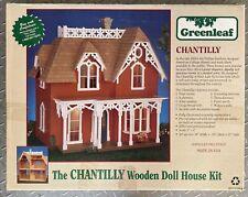 Greenleaf Chantilly Dollhouse Kit - 1 Inch Scale Pre-cut Vintage