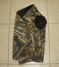Cabela's Northern Flight Dog Hunting Vest Realtree Max 5 Camo Neoprene Size 2Xl